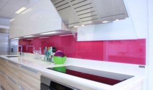 Pink-Glass-Splashback