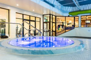 Holiday Inn Hotel glass