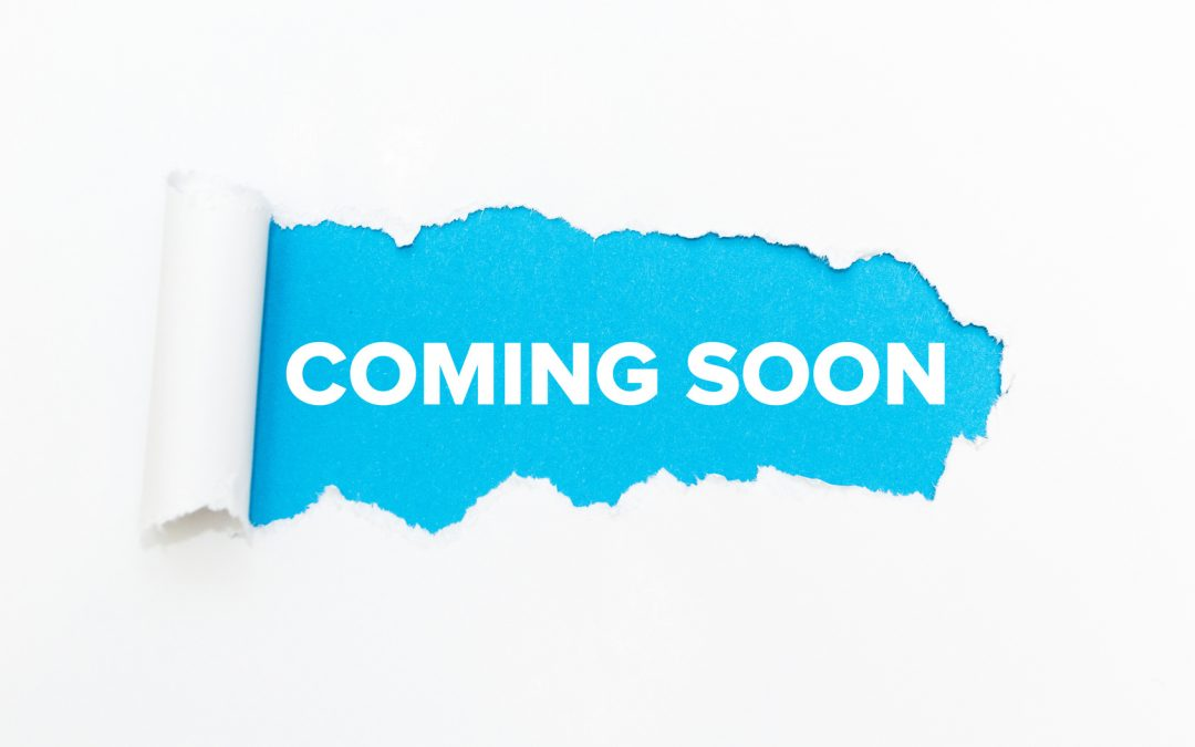 New website coming very soon!
